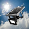 Buy cheap 3W Solar powered LED Flood light sensor garden Security path wall lamp outdoor led spot lightin from wholesalers