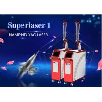 Wholesale 1064nm Q Switched Nd Yag Laser 532nm Tattoo Removal Carbon laser Peel Machine 2000MJ from china suppliers