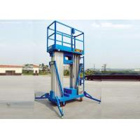 Wholesale Portable Double Mast Hydraulic Scissor Lift Platform For Loading Cargo / Material from china suppliers