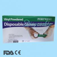 Buy cheap Cheap Disposable Examination Vinyl Gloves from wholesalers