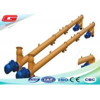 Quality Shaftless Vertical Grain Pellet Cement Screw Feeder Conveyor For Cement Silo for sale
