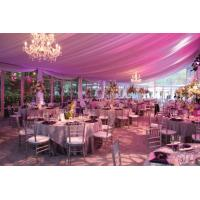Wholesale 15m Span New Design Luxury Waterproof Pinnacle Glass Wall Tents For Party And Wedding from china suppliers