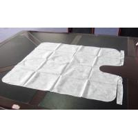 Wholesale Colorful PP Non Woven Disposable Hairdressing Capes Convenient Eco Friendly from china suppliers