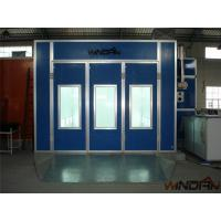 Quality Environmental Protect Side Draft Paint Booth With 4kw Exhaust Fan for sale