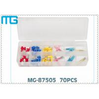 Wholesale 70PCS  Terminal Assortment Kits for  FDD Quick Disconnects with avarious colors ,CE certificated from china suppliers