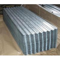 Wholesale SGCC DX51D ASTM Galvanized Corrugated Steel Roofing Sheets Chromated Surface from china suppliers