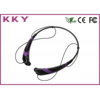 Wholesale Bluetooth Handsfree Headset , Bluetooth Cellphone Headset Noise Reduction from china suppliers