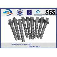 Wholesale Custom Railroad Screw Spikes Q235 Concrete Sleepers Grade 5.6 from china suppliers