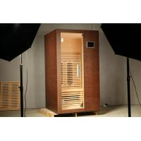 Wholesale Health Benefit Far Infrared Sauna Room 1300W with Clear Tempered Glass For One Person from china suppliers