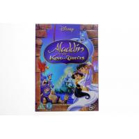 Aladdin and the King of Thieves 3 carton dvd Movie disney movie for children uk region 2
