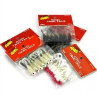 Wholesale Transparent Fishing Lure Pouches With Euro Hole Logo Pinting Avaliable from china suppliers