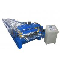 Wholesale 8T Floor Deck Roll Forming Machine 45# Steel With Quenching 60mm Shaft Chain Drive from china suppliers