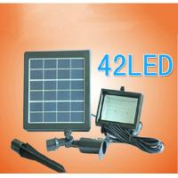Wholesale Solar Panel Led Outdoor Garden Path Wall Lights 42LED Flood Spot Lighting for Garden solar lights from china suppliers