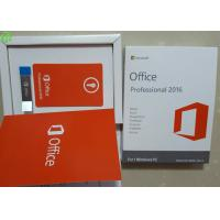 Quality Oem Key Microsoft Office Pro Retailbox USB Flash English Version for sale