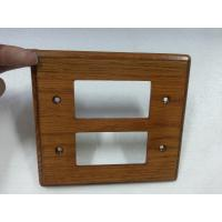 Wholesale Natural Wood Modern Switch Plate Covers Unfinished For Household 140 X 128 mm from china suppliers