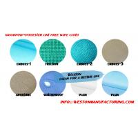 Buy cheap Nonwoven wiper fabric of spunlaced non wovens wipes spun lace x60 wypall similar from wholesalers