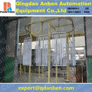 Quality Aluminum electrostatic powder coating line for sale