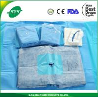Wholesale High Quality Nonwoven Disposable Surgical Drape Extremity Pack with gown from china suppliers