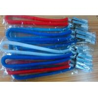 Wholesale Plastic dental bib clips flexible napkin holder expanding coiled spring leash scarfpin from china suppliers