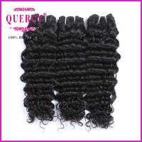 Buy cheap Top Quality 100% Human Hair Brazlian Deep Wave 8A Unprocessed Wholesale Virgin Brazilian Hair from wholesalers