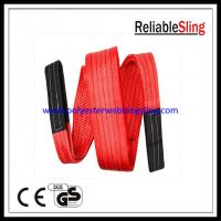Wholesale High Safety web lifting sling and straps , Anti - abrasion construction slings from china suppliers