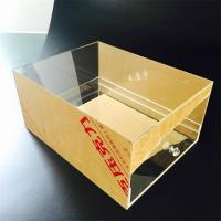 Wholesale Custom Transparent Acrylic Shoes Box With drawer Manufacturers from china suppliers