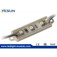 Wholesale 3 Led Chip Epistar 3528 SMD Led Module , Light Signage Outdoor Led Modules 12VDC 0.3W from china suppliers