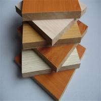 Buy cheap 4x8 melamine mdf board colors from wholesalers