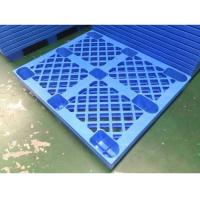 Wholesale 4 Way HDPE Plastic Storage Pallet For Variour Industries Lightweight Structure from china suppliers