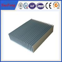 Wholesale industry aluminum profiles heatsink, OEM customized drawing industrial aluminum heat sink from china suppliers