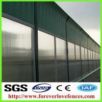 high quality hot-selling cheap traffic barrier manufacturer sound absorbing material sound barrier/noise barrier