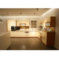 Wholesale Custom White Glossy UV Kitchen Cabinet Melamine Faced Chipboard Carcass Waterproof from china suppliers