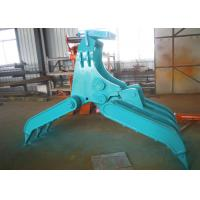 Wholesale Wide Design Mechanical Grapple / Grab for Kobelco SK200 Excavator from china suppliers