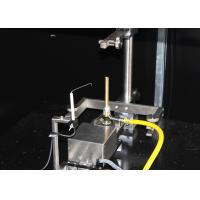 Quality Automated Vertical Specimen Fire Testing Equipment With Test Data Accurate for sale