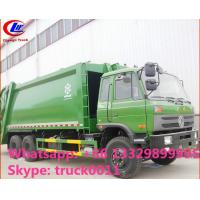 Wholesale hot sale best price dongfeng 4*2 LHD 18cbm compactor garbage truck. factory sale dongfeng 16m3 garbage compactor truck from china suppliers