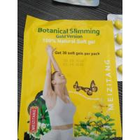 Wholesale Good Diet Pills Botanical Slimming Gold Version Soft Capsule Original from china suppliers