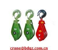 Wholesale high quality Single Wheel Open Hook Puley from china suppliers