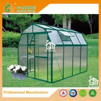 Wholesale 8'x6'x6.7'FT Green Color Easy DIY Barn Style Aluminum Greenhouse from china suppliers