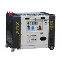 Wholesale Single Phase 50HZ 6.5kVA Portable Diesel Power Generator With Electric Start from china suppliers