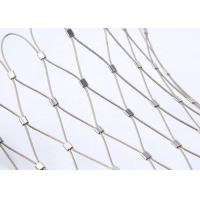 Buy cheap SS304 316 Cable Mesh Net/Wire Rope Fence for Tensile Project from wholesalers