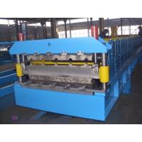 Wholesale Galvanized Steel Double Deck Roll Forming Machine For Wall Panel 0.3-0.8mm from china suppliers