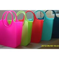 Wholesale Candy Silicone Shopping Bag Custom Waterproof / Silicon Beach Bag from china suppliers