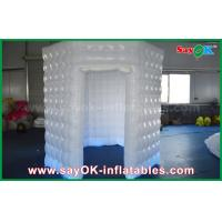 Quality PVC Coated Inflatable Octagon Mobile Photo Booth Tent With LED Lighting for sale