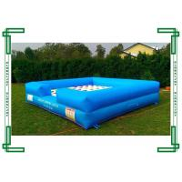 Wholesale Custom PVC Tarpaulin Large Inflatable Sport Game , Inflatable Twister Game from china suppliers