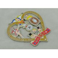 Wholesale 3.5mm Swaroviski Stone Cartoon Carnival Medal / Custom Zinc Alloy Medal from china suppliers
