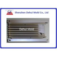 Wholesale Black / White LED Heatsink Aluminum Extrusion Profiles With E Coating from china suppliers