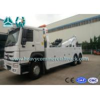 Wholesale SINOTRUK 20 Tons Heavy Duty Tow Truck Wrecker , Road Recovery Vehicle from china suppliers