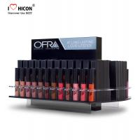 Wholesale Fresh Cosmetic Display Stand Custom Merchandising Acrylic Liquid Lipstick Display Stand from china suppliers