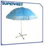Wholesale PP Straw Hawaii 8FT Tessal Nylon Tropical Island Beach Umbrella from china suppliers