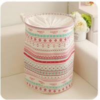 Wholesale foldable laundry hamper basket with mesh lid from china suppliers